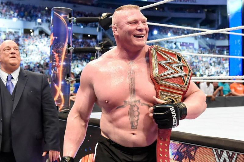 Brock Lesnar could be losing his Universal Championship at SummerSlam