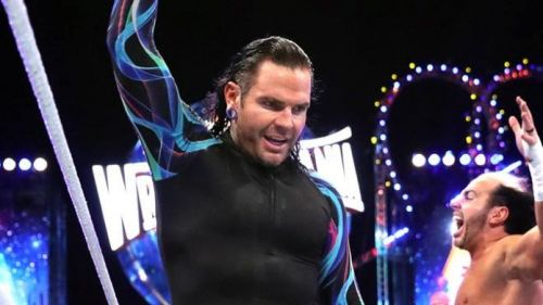 Jeff Hardy is currently struggling with an injury