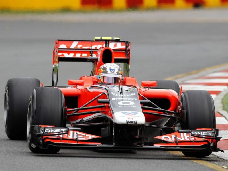 The 2011 Marussia Virgin Racing F1 car designed entirely using CFD