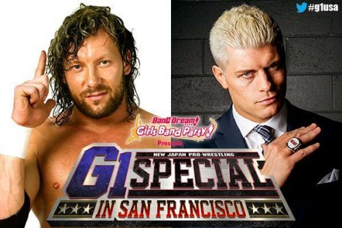 Cody Rhodes will take on Kenny Omega at NJPW's G1 Special