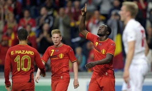 Image result for hazard de bruyne lukaku