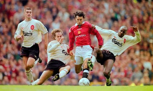 Ryan Giggs Manchester United v Liverpool  Premier League 1996