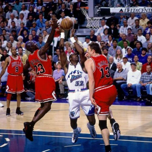 1998 NBA Finals Game 6:  Chicago Bulls vs. Utah Jazz