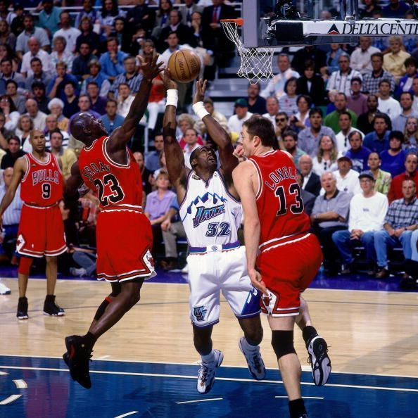 1998 NBA Finals Game 6:  Chicago Bulls vs. Utah Jazz