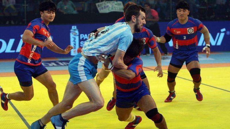 kabaddi masters dubai 2018 south korea vs argentina