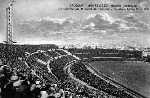 Sport, Football, The Centenary Stadium Montevideo, Uruguay which hosted the first F,I,F,A,World Cup Final in 1930