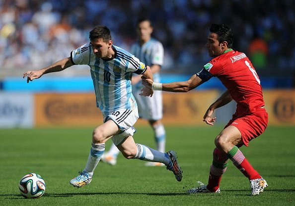 Soccer - FIFA World Cup 2014 Group F - Argentina v Iran