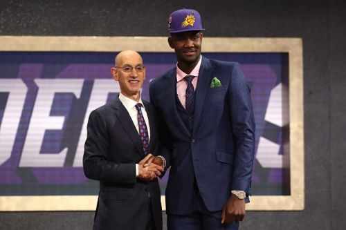 The Phoenix Suns drafted DeAndre Ayton with the first pick in the 2018 NBA Draft