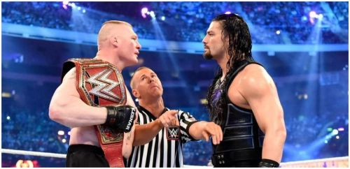 Brock Lesnar vs. Roman Reigns WrestleMania 34