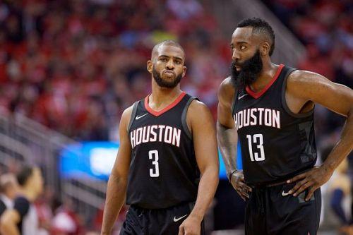 Minnesota Timberwolves vs Houston Rockets, 2018 NBA Western Conference Playoffs First Round