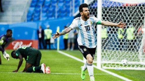 Messi Argentina v Nigeria World Cup 26062018
