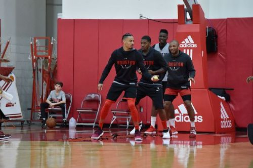 Houston Rockets All Access Practice