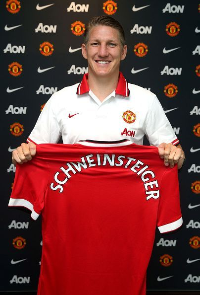 Manchester United Unveil New Signing Bastian Schweinsteiger