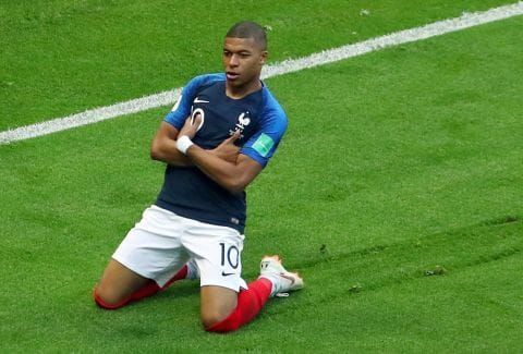 Kylian Mbappe managed 2 goals and an assist against Argentina in their round of 16 tie
