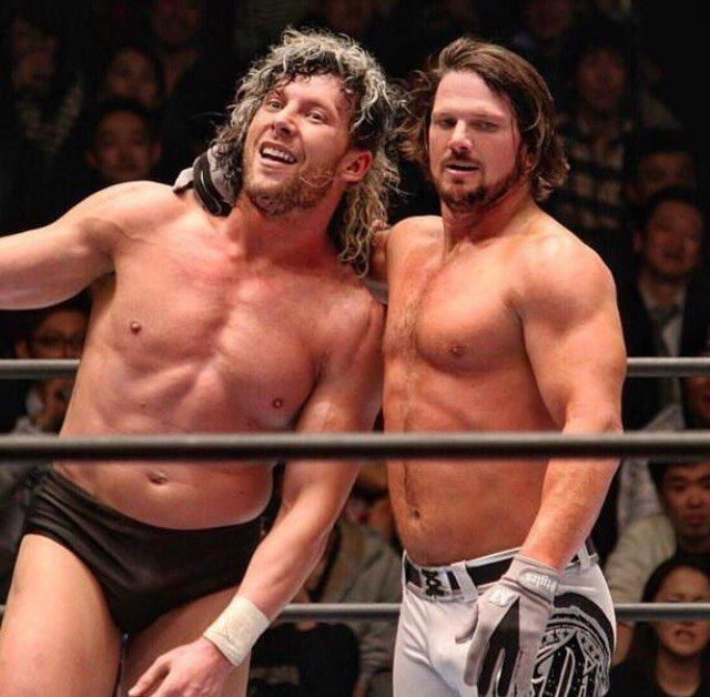 Omega and Styles were stablemates in The Bullet Club