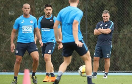 Melbourne City FC Training Session