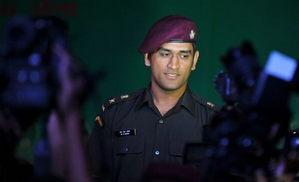 Indian cricket team captain Mahendra Sin