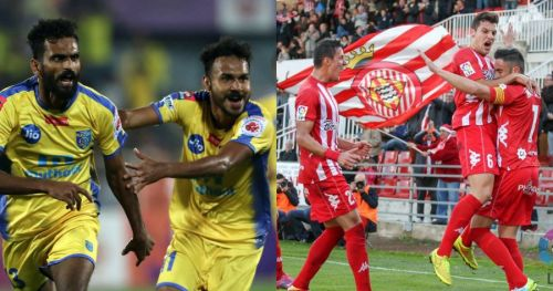 It's time for Kerala Blasters vs Girona FC!