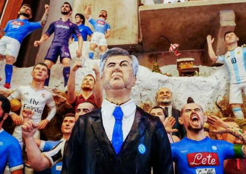 Carlo Ancelotti the new manager of the soccer team SSC...