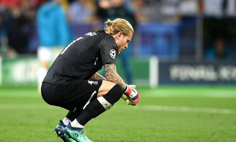 Karius has been a subject of errors at Liverpool
