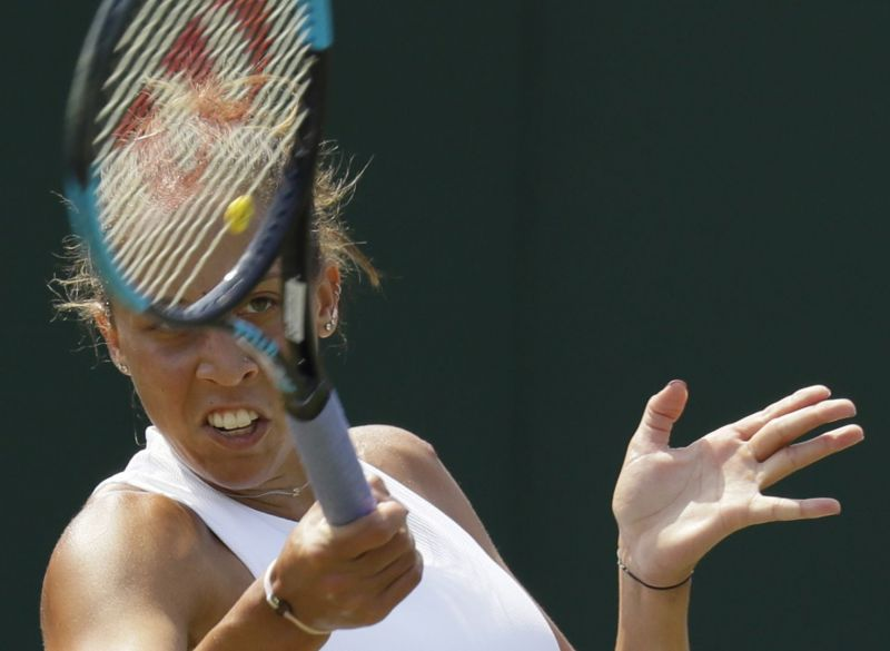 Keys thinks about facing Serena next, but loses at Wimbledon