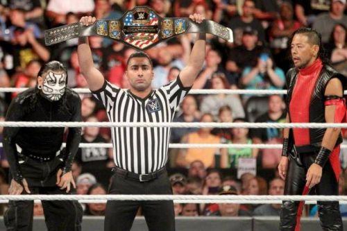 Shinsuke Nakamura vs. Jeff Hardy US title
