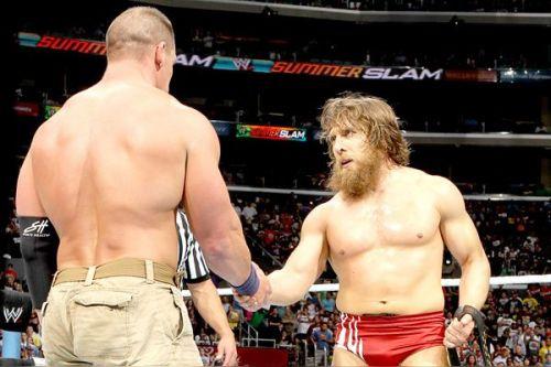 John Cena vs Daniel Bryan
