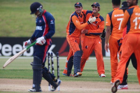 ICC Cricket World Cup Qualifier - Netherlands v Nepal