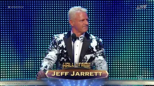Jeff Jarrett's year started with him joining the WWE Hall of Fame
