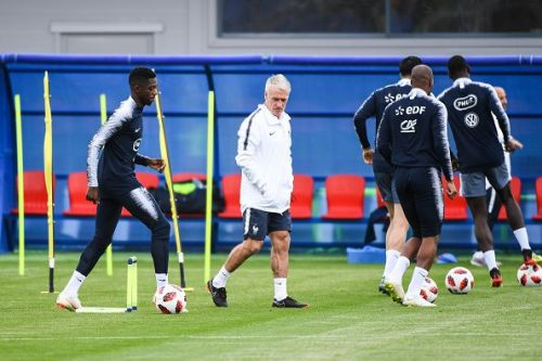 France Training session - 2018 FIFA World Cup