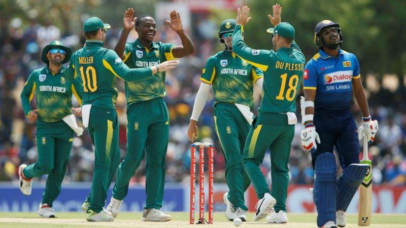 Image result for SL vs south africa odi 2018