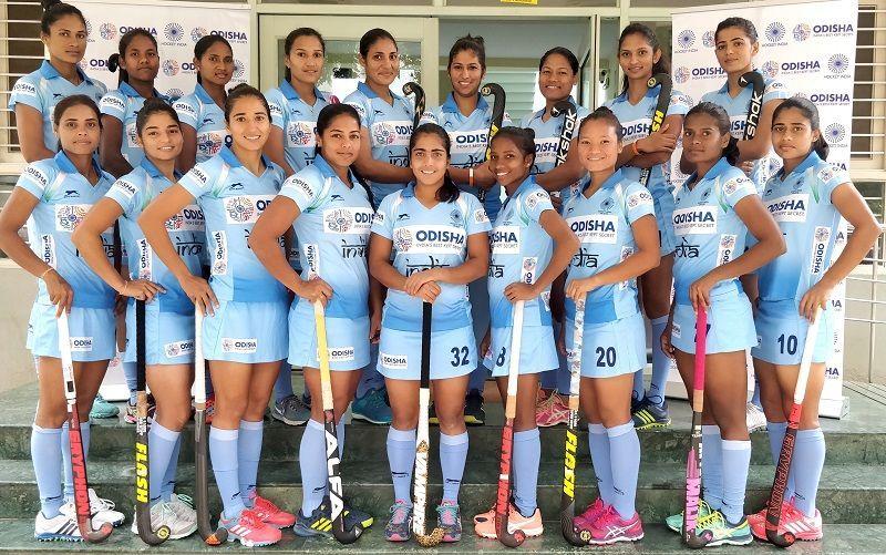 Indian women hockey team players name