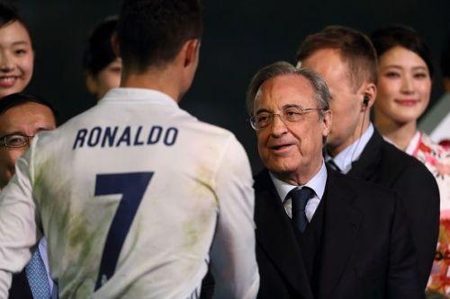 Florentino Perez has reportedly identified Ronaldo's replacement