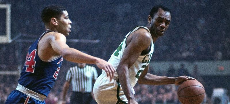 Sam Jones served as the wingman to Bill Russell in Boston s early years. 579b785a0