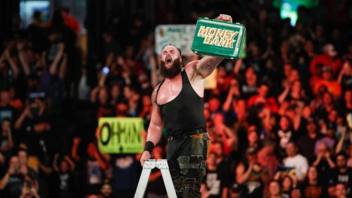 Braun Strowman won the Money in the Bank contract at this year's Men's Money in the Bank Match