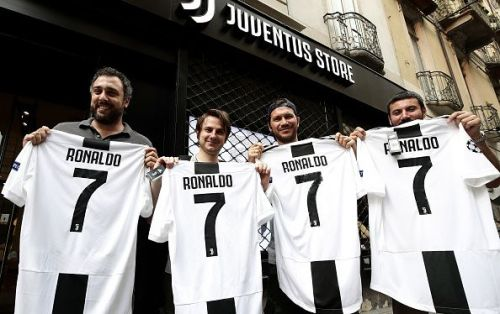 Cristiano Ronaldo is officially a Juventus player now