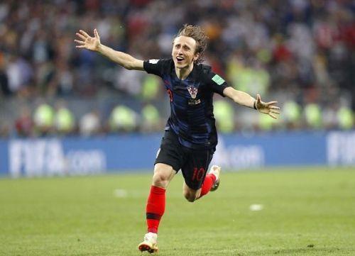 Football: Croatia vs England at World Cup