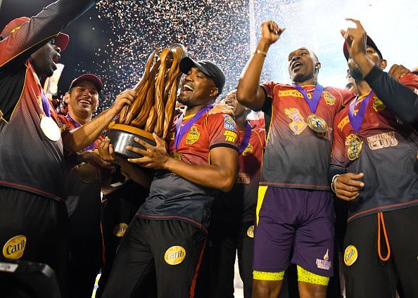 2017 Hero Caribbean Premier League - Trinbago Knight Riders v St Kitts & Nevis Patriots