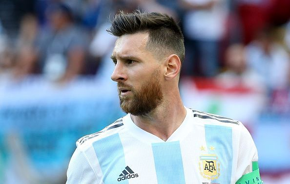 France v Argentina: Round of 16 - 2018 FIFA World Cup Russia Messi ...