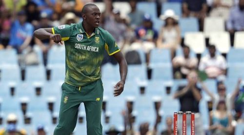 Rabada has been in great form for South Africa