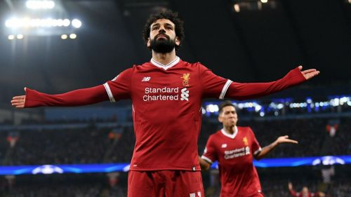 Mohamed Salah's first season at Liverpool was scintillating