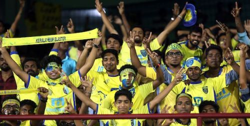 Kerala Blasters FC garners a huge fan following