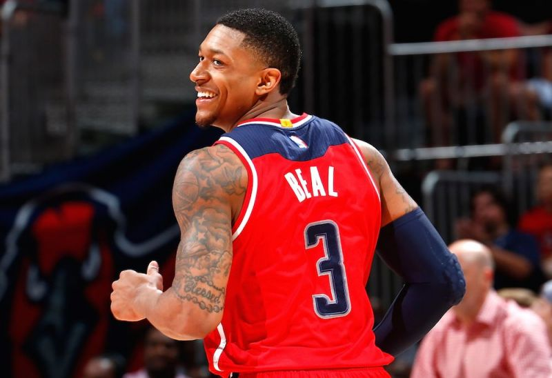 Beal cracking a smile