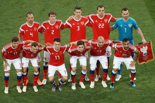 2018 FIFA World Cup Quarter-finals: Russia 2 - 2 (3 - 4) Croatia
