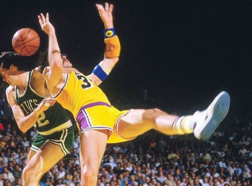 Kevin McHale and Kurt Rambis