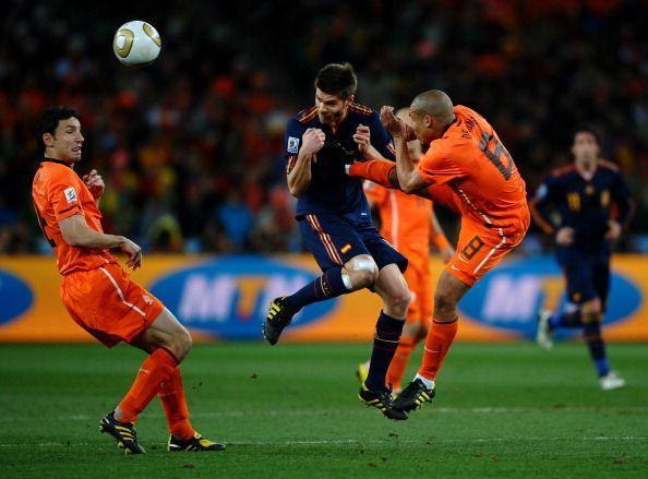 Netherlands v Spain: 2010 FIFA World Cup Final
