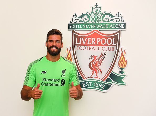 Liverpool Unveil New Signing Alisson