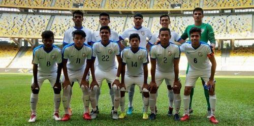 The Indian U-16 National Football Team