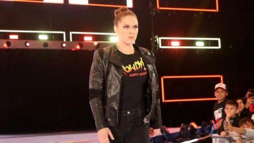 'Rowdy' Ronda Rousey