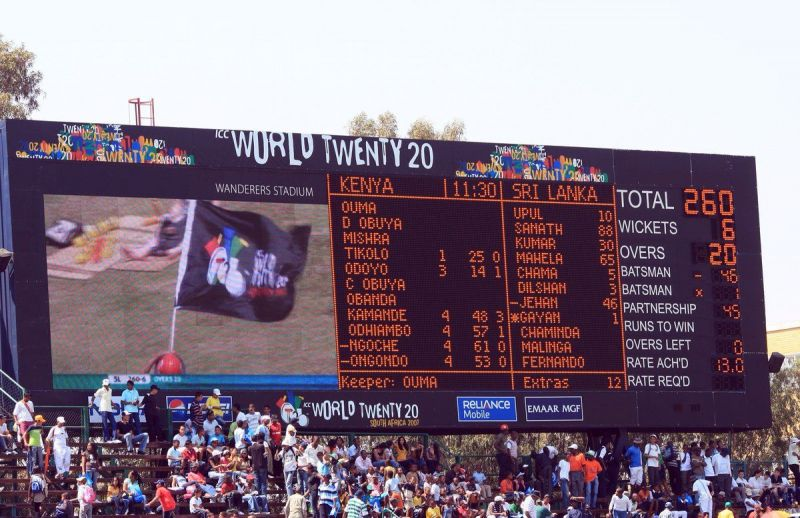 It took nine years to break this record, but the present record might not last long (Source: Twitter ICC)